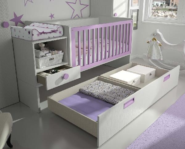 Habitaci n del beb - Habitacion convertible bebe ...